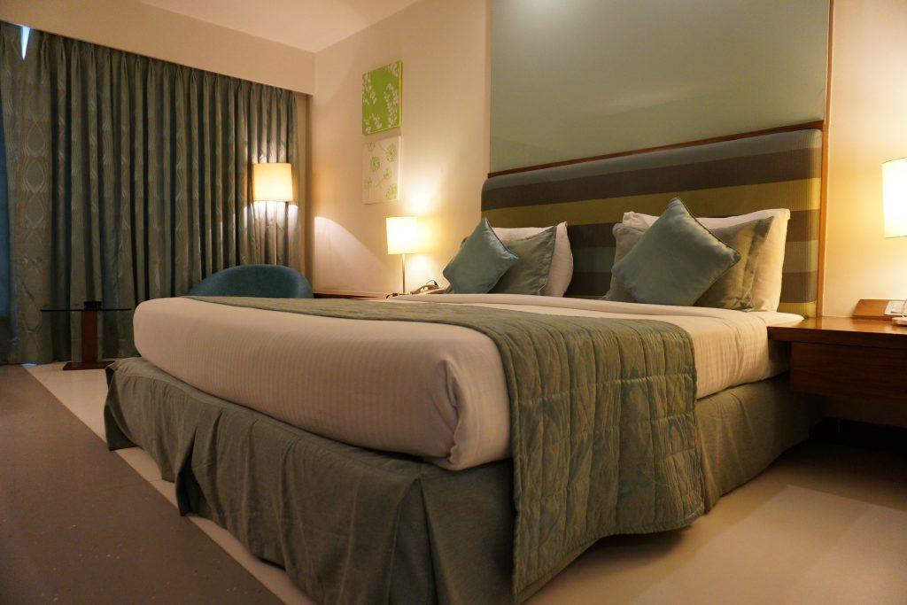 Michigan Hotel Room