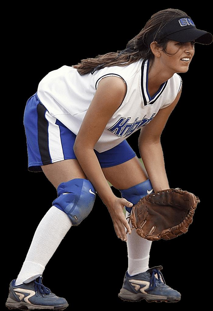 Youth Softball Player