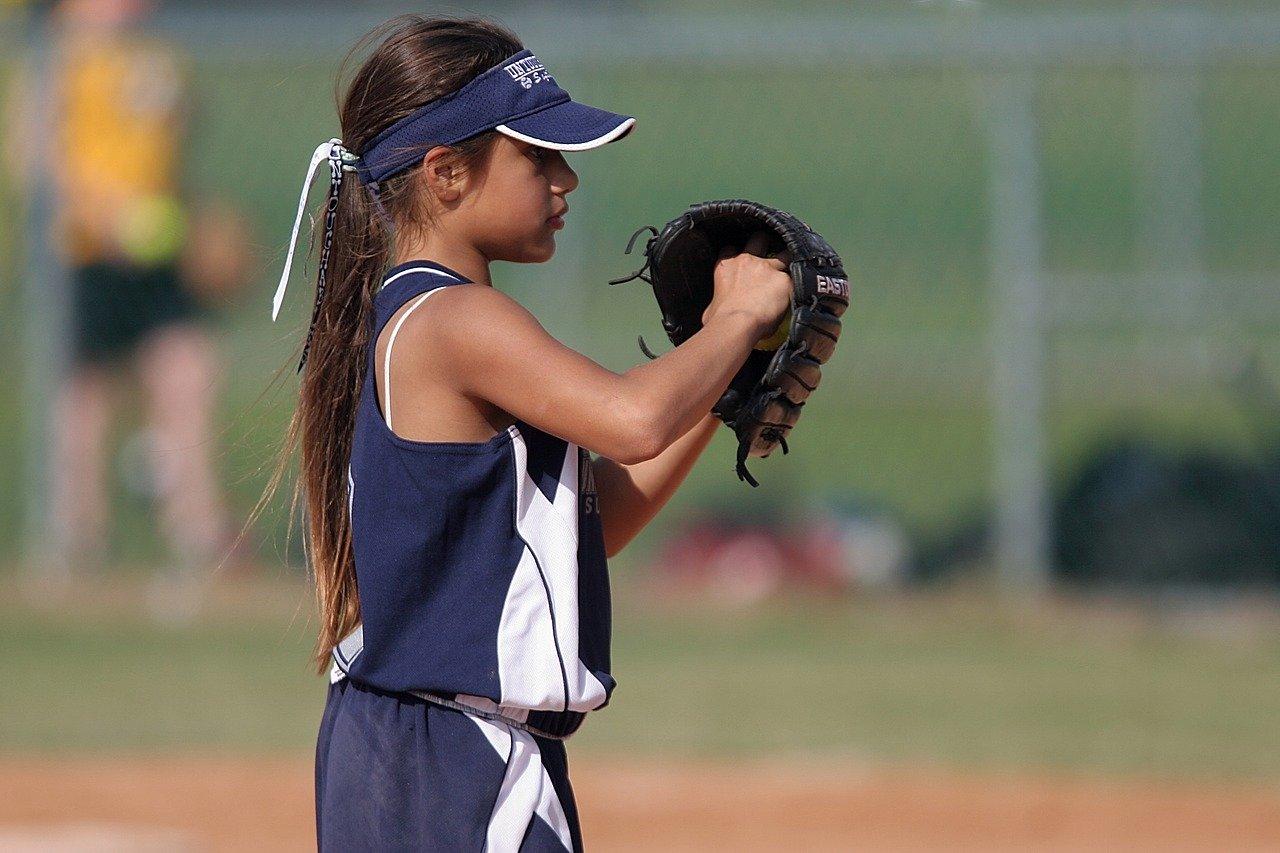 Youth Softball Pitcher